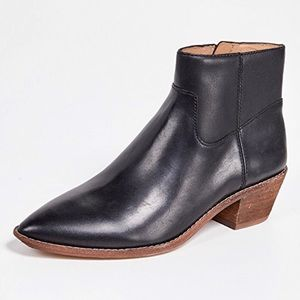 NEW Madewell Black Charley Boots Size 8